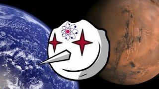 Светлый Блог # 4. Полет на Марс