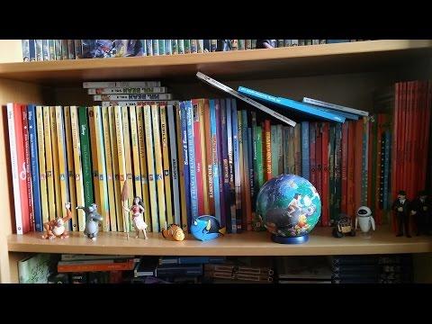 Meine Disney Bücher & Figuren Sammlung