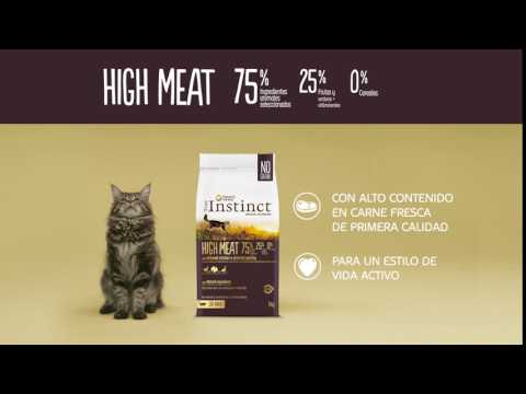Cápsula Gato | High Meat | True Instinct