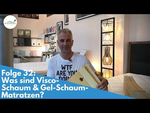 Visco-Matratze & Gel-Schaum-Matratzen - Was ist das? | Folge 32