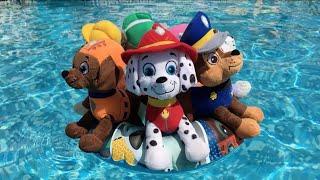 La Patrulla canina y la fiesta acuatica en la piscina / Capitulo 10 Paw Patrol en español
