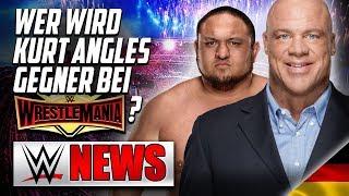 Wer wird Kurt Angles Gegner bei Wrestlemania?, Eminem unterschreibt WWE Vertrag?   WWE NEWS 22/2019
