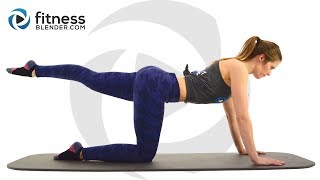 At Home Pilates Butt and Thigh Workout - Pilates Workout for Lower Body