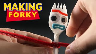 Making Forky - Toy Story 4
