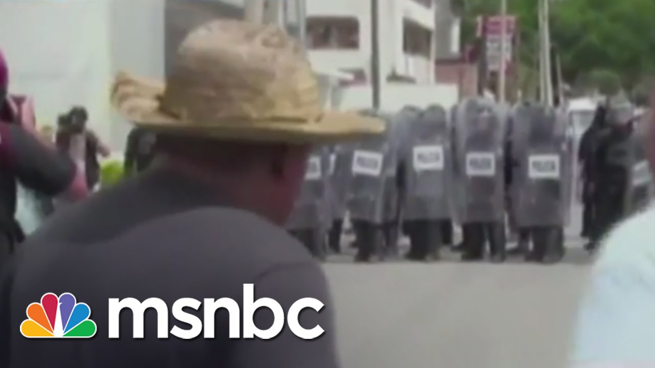 Violent Protests Ahead Of Mexico Elections | msnbc thumbnail