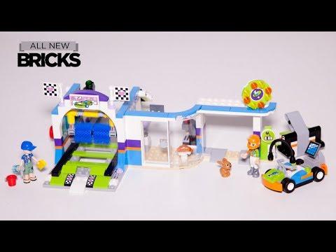 Vidéo LEGO Friends 41350 : La station de lavage auto