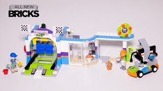 Lego Friends 41350 Spinning Brushes Car Wash Speed Build