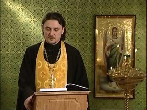 Читаем Евангелие вместе с Церковью. 15 февраля 2013