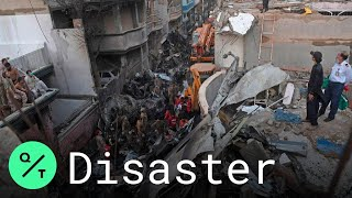Bodies Pulled from Rubble After Deadly Karachi Plane Crash Kills 107