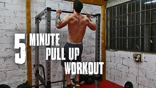 5 Minute Pull Up Calisthenics Workout | Follow Along by TA Calisthenics