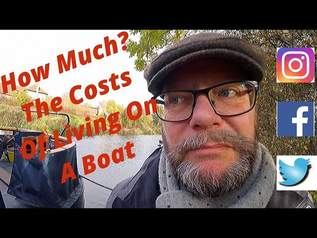 #72 - The Costs of Living on a Canal Boat