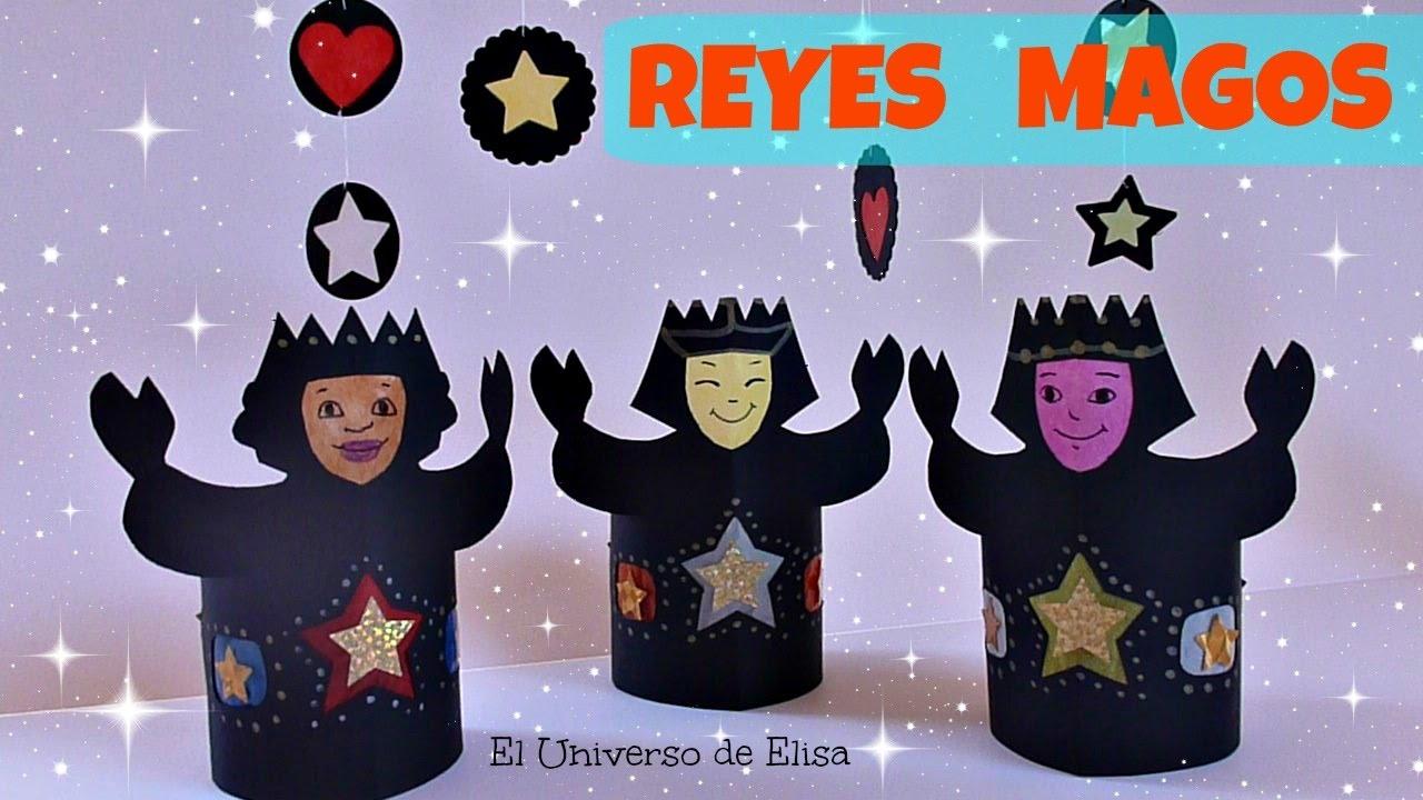 Manualidades para Navidad, Cómo hacer Reyes Magos para Portal de Belén o Nacimiento Navideño