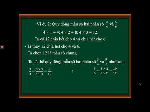 Bài 68 Quy đồng mẫu số các phân số