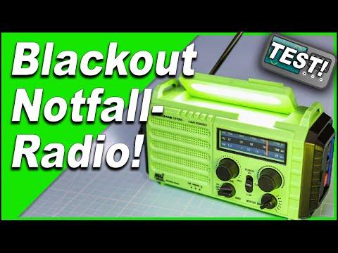 Erzeugt es WIRKLICH Strom? 📻 nachgemessen! Blackout   Notfallradio   CR1009   Solar   Kurbelradio