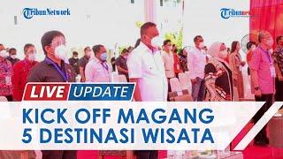 Menaker Ida Fauziya Lakukan Kick off Pemagangan 5 Destinasi Wisata Super Prioritas di Minahasa Utara