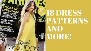 18 Dress Patterns And More!