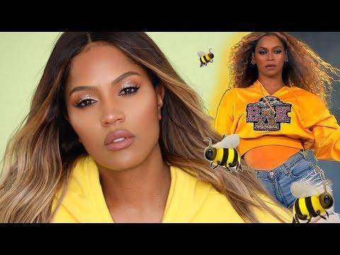 BEYONCE Coachella 2018 Makeup Tutorial | MakeupShayla