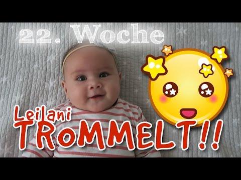 Babytagebuch #5 - 22. Woche - Leilani macht MUSIK 🎤, HIPP Mein Baby Club, Herbstspaziergang