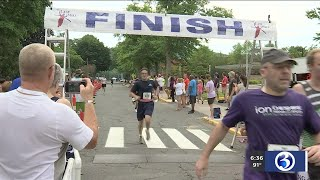 VIDEO: Thousands participate in Petit Family Foundation 5k despit high temps and humidity