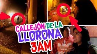 UNA NOCHE Durmiendo en la CALLE 👹 Vimos a la LLORONA 😱 Terror Fantástico 🌙 Vloggeras Fantásticas