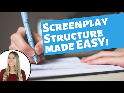 Screenplay Story Structure made EASY! *** Best script writing plot online class -Screenwriting.