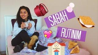 OKUL SABAH RUTİNİM +Vlog | İrem Çalhan