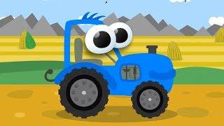 Сборник Видео для Детей. Мультик про Синий Трактор и обзоры про игрушечные Машинки