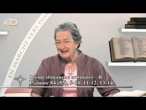 15e dimanche ordinaire B - Psaume
