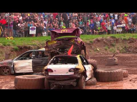 2018 Marystown Demolition Derby - Small Car Heats