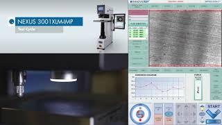 Σταθερό Σκληρόμετρο Brinell Nexus 3001 XLM-IMP INNOVATEST