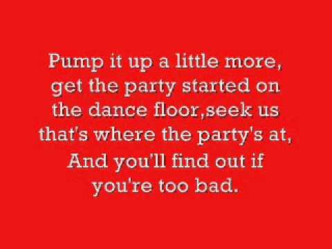 Pump up the Jam lyrics.wmv