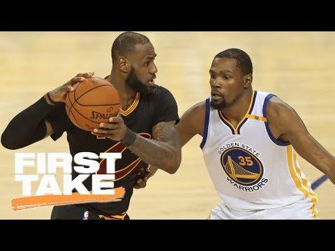 LeBron James handles criticisms better than Kevin Durant | First Take | ESPN