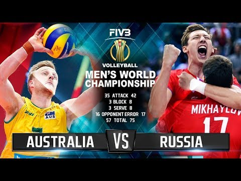 Russia vs. Australia | Highlights | Mens World Championship 2018