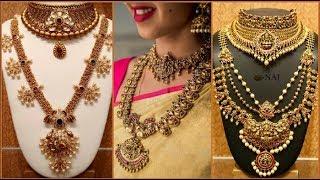 Latest Bridal Necklace Sets Designs 2019 || Indian Bridal Jewellery Sets