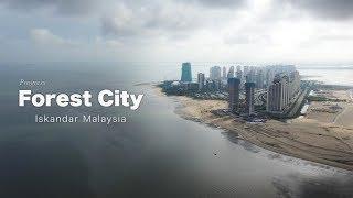 Forest City, Iskandar Malaysia - Latest Progress as May 2019