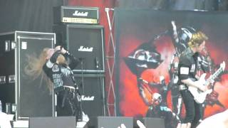 Arch Enemy - Bloodstained Cross, Live @ Sonisphere,Stockholm 2011