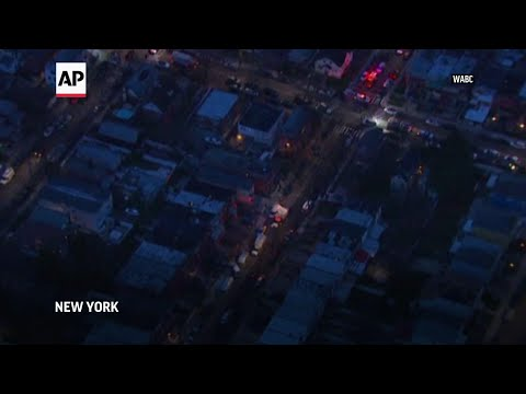 At least 2 US Marshals, suspect shot in New York