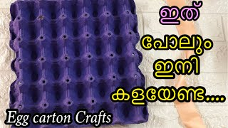 Egg Carton Craft Ideas  DIY   Best Out Of Waste    Home Decor   Trash To Treasure   Recycling Crafts