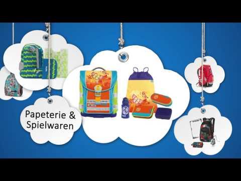 Schultornister Ausstellung 2015 Papeterie Calmart AG in Fislisbach