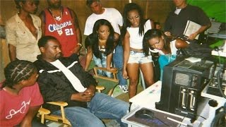 Aaliyah - Rock the Boat (Behind the Scenes)