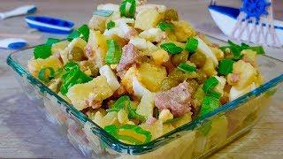 Из ничего за 10 минут шикарный салат! Кто готовил такой САЛАТ подтвердят что он вкусный!
