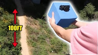 CAN A FOAM CUBE PROTECT MY CAMERA FROM A 100FT DROP?!