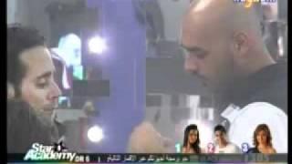 Star Academy 8.26/4/2011.افرام ينصح سارة عن طريقة كلامها مع حسام