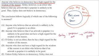 Sufficient Assumption | Logical reasoning | LSAT | Khan Academy