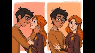[Comic] Artist Brought Unseen Harry Potter Scenes To Life, And It's Magical
