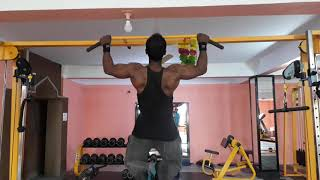 preview picture of video 'How to pull ups aftr killing back workout'