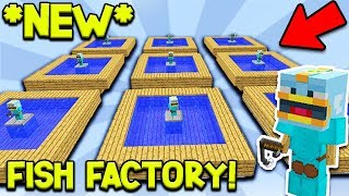 Hypixel Skyblock - THIS FISH FARM MAKES 3,000+ FISH A DAY...!