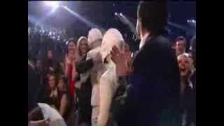 Best Grammys Moment- Daft Embrace