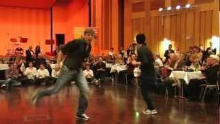 preview picture of video 'Jumpstyle Auftritt beim Abschlussball der Tanzschule Krebs aus Göttingen'