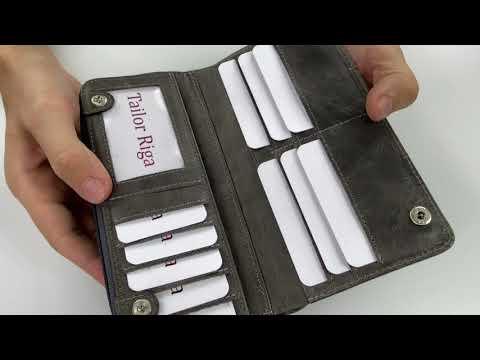 Moteriška odinė piniginė M30GS kaina ir informacija | Piniginės, kortelių dėklai moterims | pigu.lt